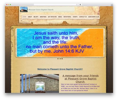 Sharefaith Church Website Template theme WordPress - pgbcwilkesboro.org