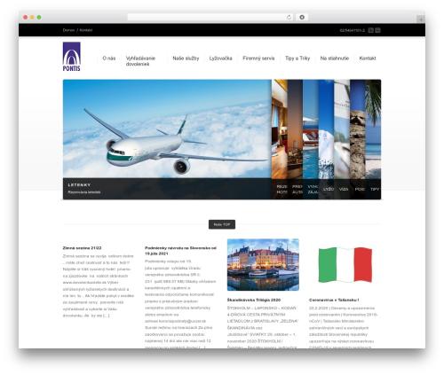 WordPress theme Corona - pontis.sk