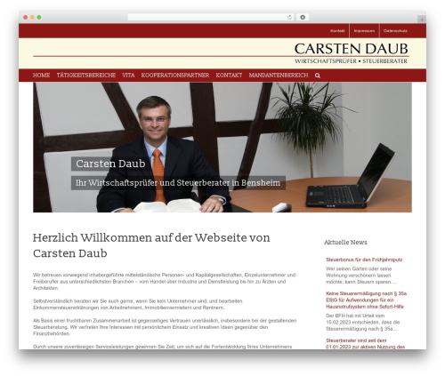 Avada top WordPress theme - daub-wp-stb.de