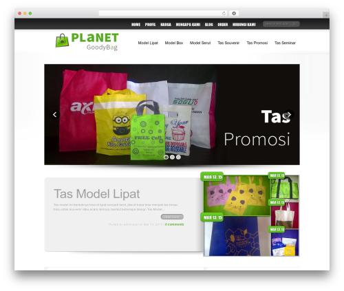 Best WordPress template Delicate News - planetgoodybag.com