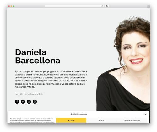 Bridge WordPress theme - danielabarcellona.com