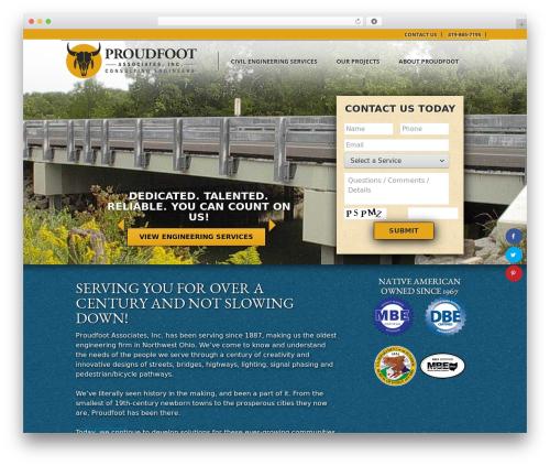 Proudfoot WP template - proudfootassociates.com