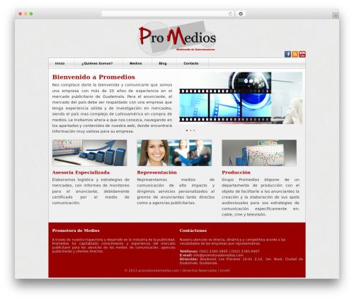 Free WordPress JQuery Mega Menu Widget plugin - promotorademedios.com