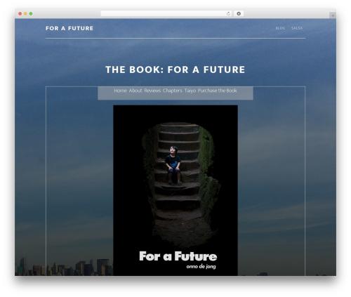 Altitude Pro Theme WordPress theme design - forafuture.com