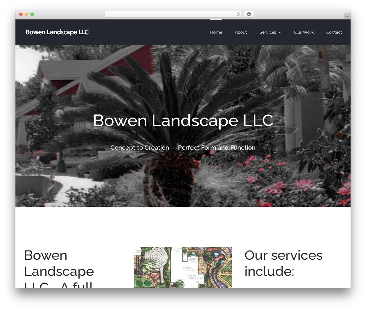 Avada landscaping WordPress theme - funtasticgardens.com