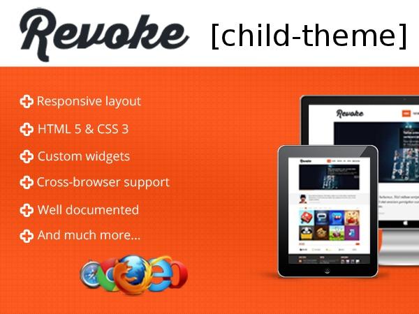 Best WordPress template Revoke [child-theme]