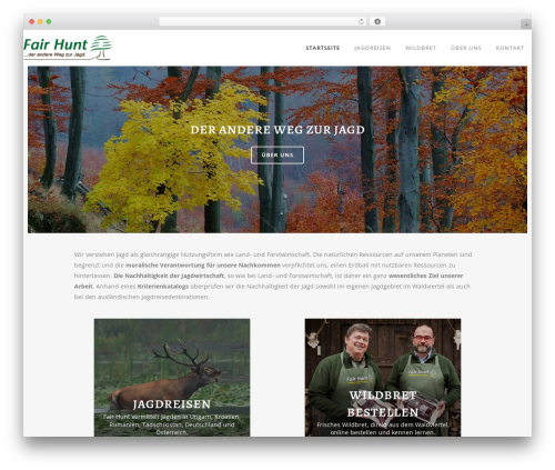 Bridge WordPress theme - fairhunt.net