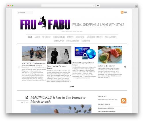 Elemin WordPress website template - fru-fabu.com