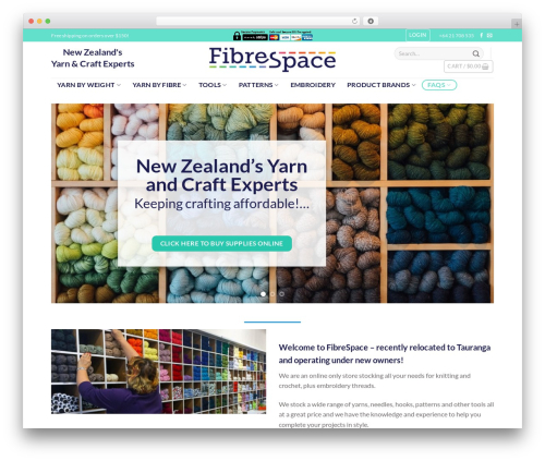 Flatsome WordPress ecommerce template - fibrespace.co.nz