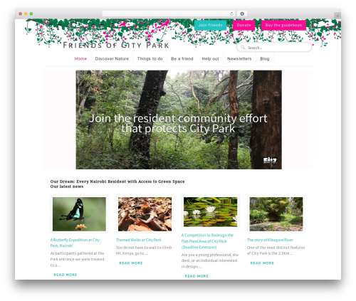 Function WordPress theme - friendsofcitypark.org