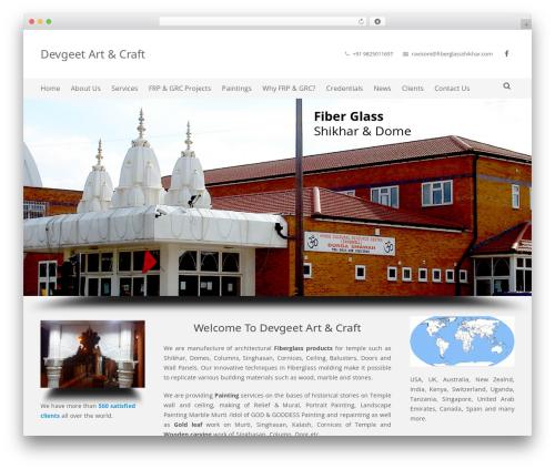 Impreza (Share On Themestotal.Com) WordPress theme - fiberglassshikhar.com