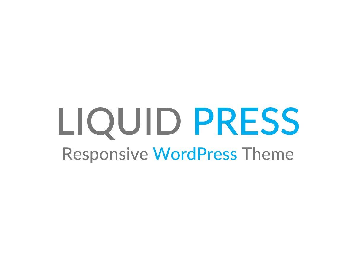 LIQUID INSIGHT WordPress theme design