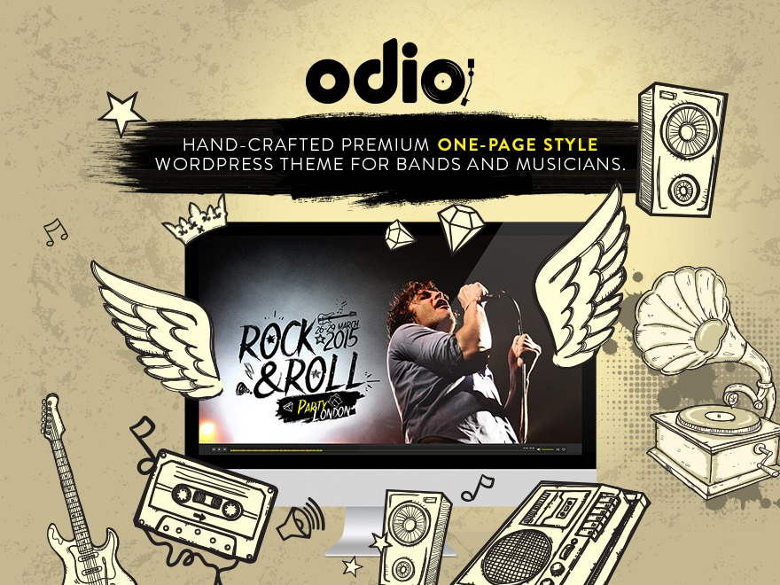 Odio - Child template WordPress