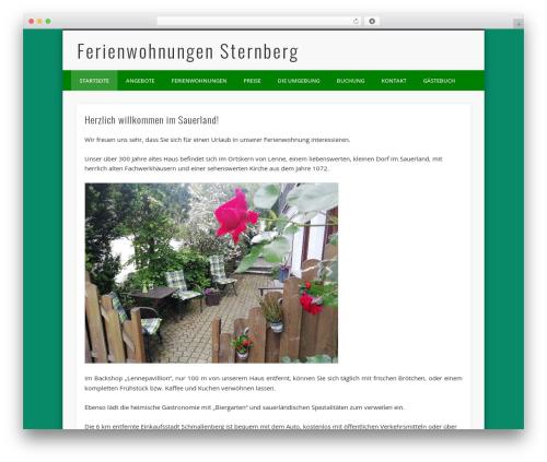 Pinboard WordPress theme - fewo-sternberg.de