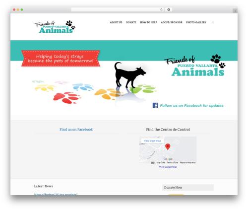 Rescue WP template - friendsofpvanimals.com