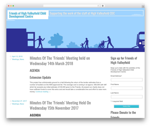 Swiss WP template - friendsofhighvalleyfield.co.uk
