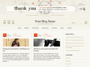Wordpress Anniversary WordPress theme