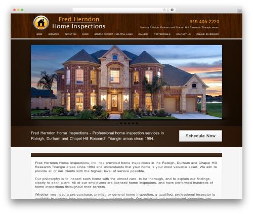 WordPress website template Method - fhhomeinspections.com