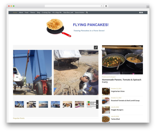 WP template Cookbook - flyingpancakes.org