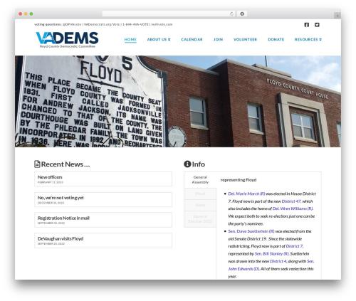 WordPress x-email-mailchimp plugin - floydvadems.org