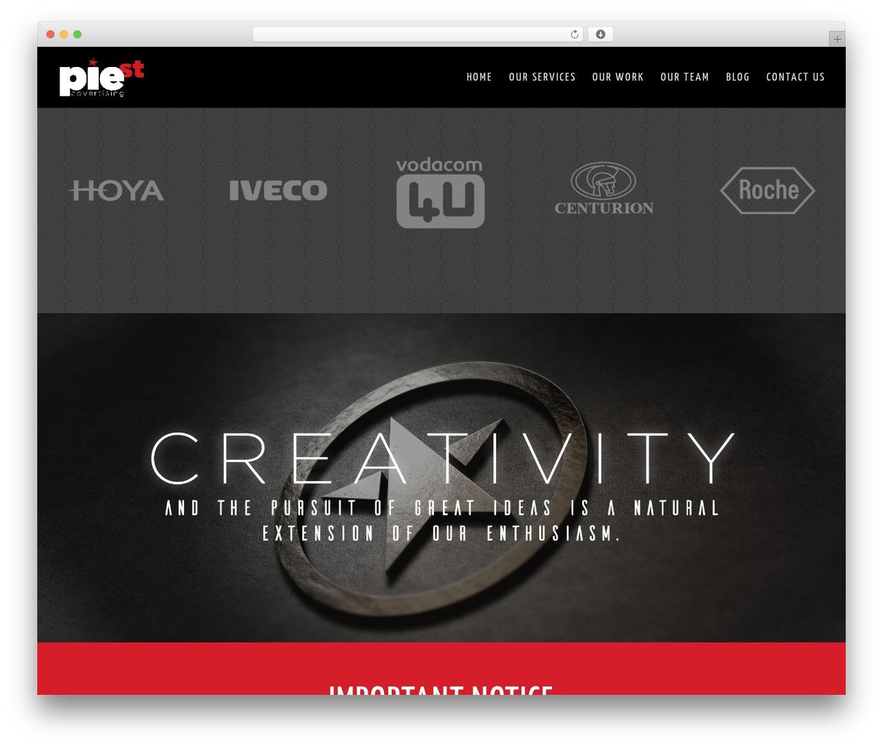 Best WordPress template Divi - piestreet.co.za