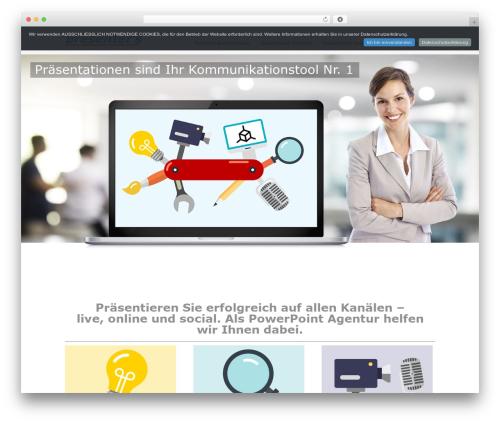 Best WordPress template Striking MultiFlex & Ecommerce Responsive WordPress Theme - presenters24.de