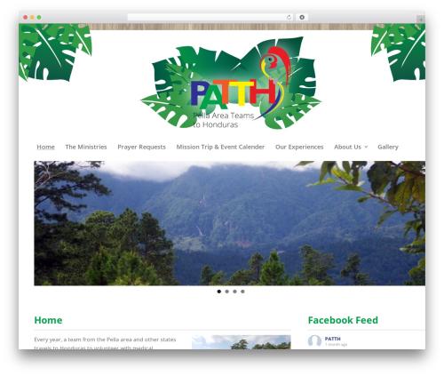 Best WordPress theme Gantry Theme for WordPress - patth.org