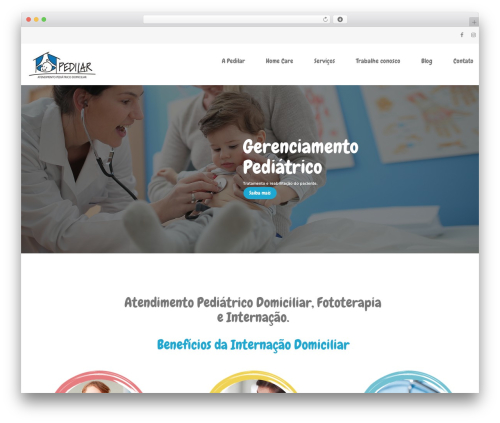 InMedical WordPress theme - pedilar.com.br