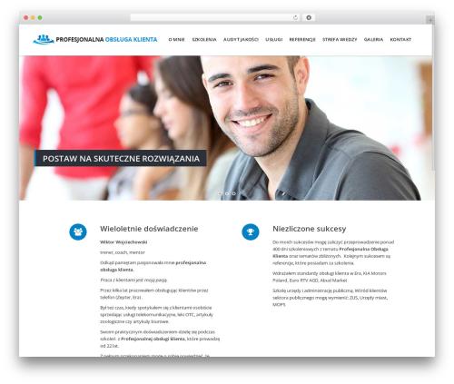 Theme WordPress Berry - profesjonalnaobslugaklienta.pl