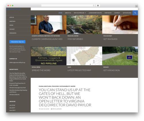 Twenty Fourteen WordPress theme download - preservefloyd.org