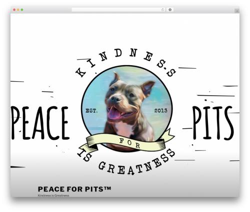 Twenty Seventeen free website theme - peaceforpits.org