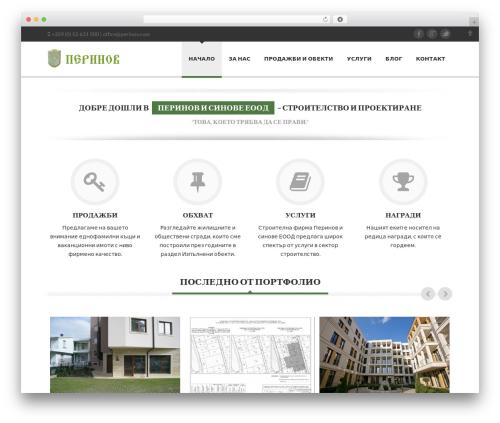 WP template Delicate - perinov.com