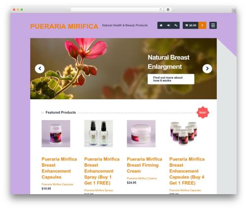 Bearded WordPress theme - pueraria-mirifica.com