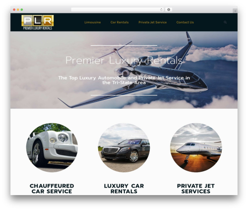 Best WordPress theme The7 - premierluxuryrentals.com