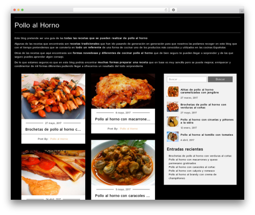 Food recipes theme wordpress free by fasterthemes page 7 food recipes theme free download polloalhorno forumfinder Choice Image