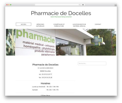 Matheson template WordPress free - pharmaciededocelles.com