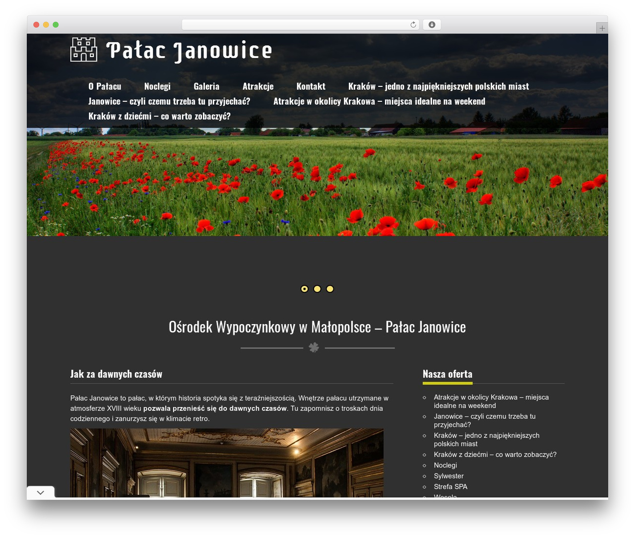 Nature One Wordpress Website Template By Skt Themes Palac Janowicepl