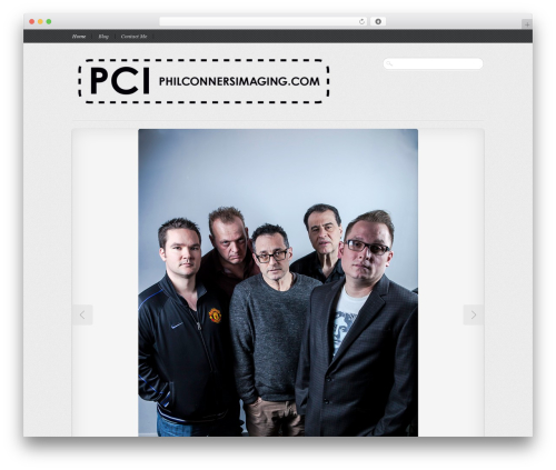 Reportage WordPress page template - philconnersimaging.com