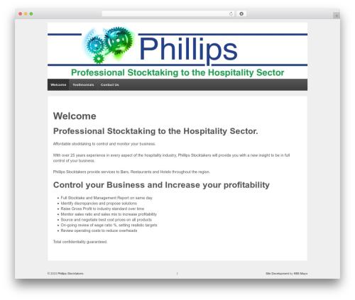 Responsive free website theme - phillipsstocktakers.com
