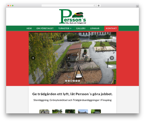 Template WordPress X - perssonsvmt.se