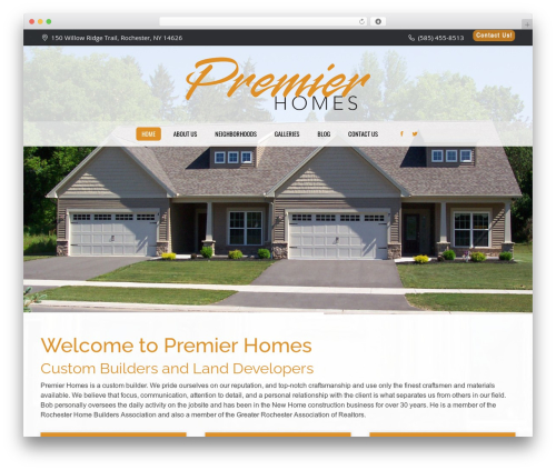 The7 WP theme - premierhomesofrochester.com