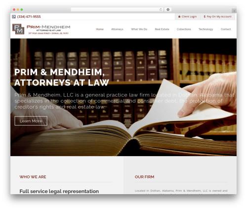Theme WordPress Linstar - pm-firm.com