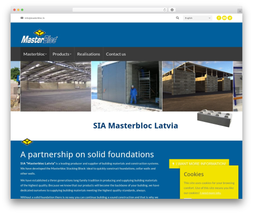 Theme WordPress The7 - masterbloc.lv