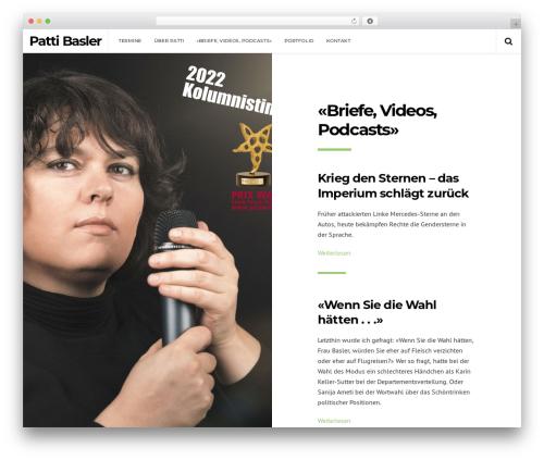 WP theme Pixie - pattibasler.ch