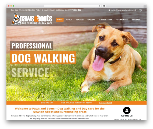 WP theme The7 - pawsandboots.co.uk