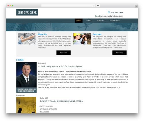 Headway Base WordPress website template - denniswclark.ca