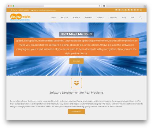 Free WordPress Advanced post slider plugin - decimalworks.com