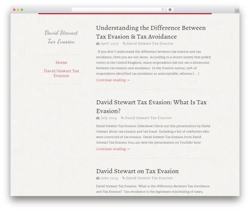 typefocus WP template - davidstewarttaxevasion.com