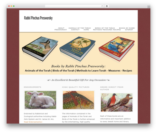 WP template Dandelion - presworsky.com