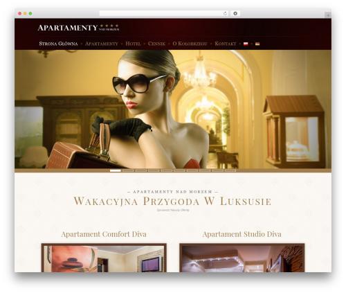 Amadeus best hotel WordPress theme - divaspa.pl/strona-glowna
